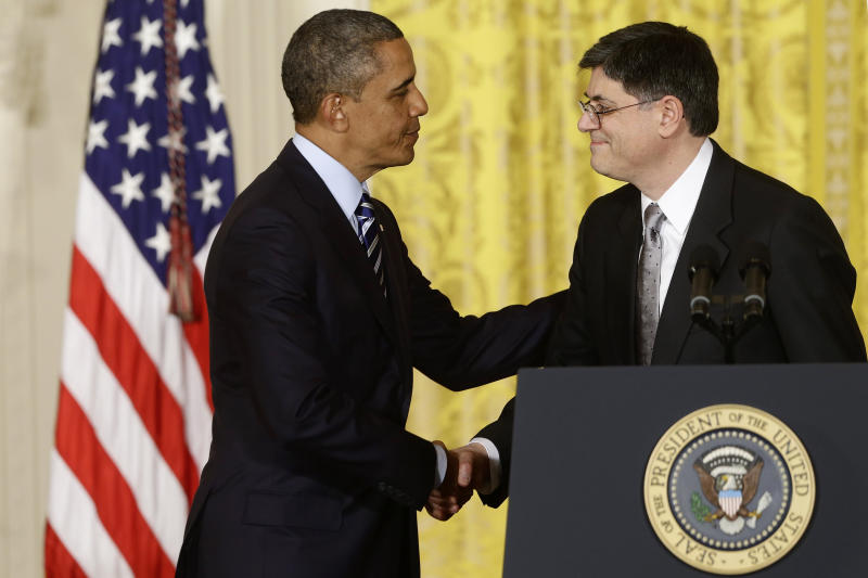 Likely Treasury chief Lew faces early budget tests