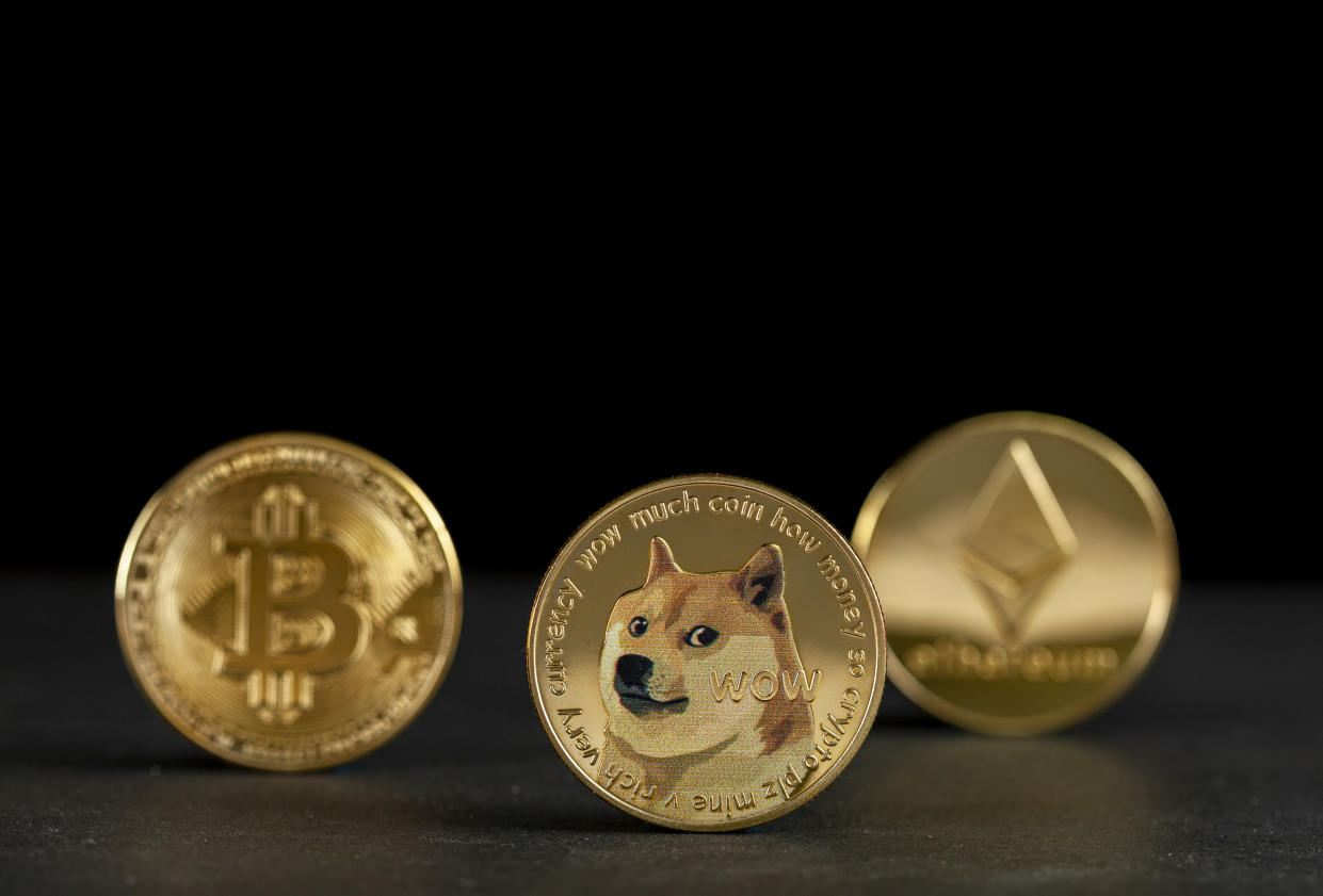 More financial advisers are adding cryptos them to their clients' portfolios. Photo: Getty Images