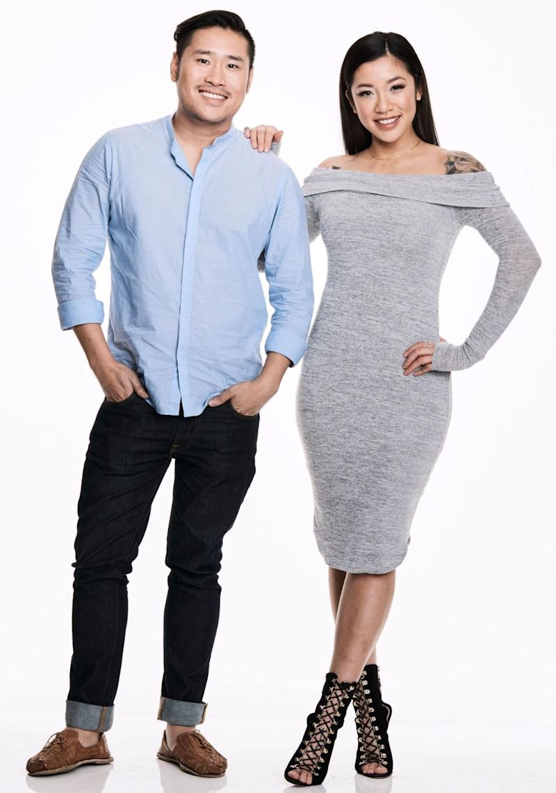Betty made her <i>My Kitchen Rules</i> debut last night with best friend David. Source: Channel Seven