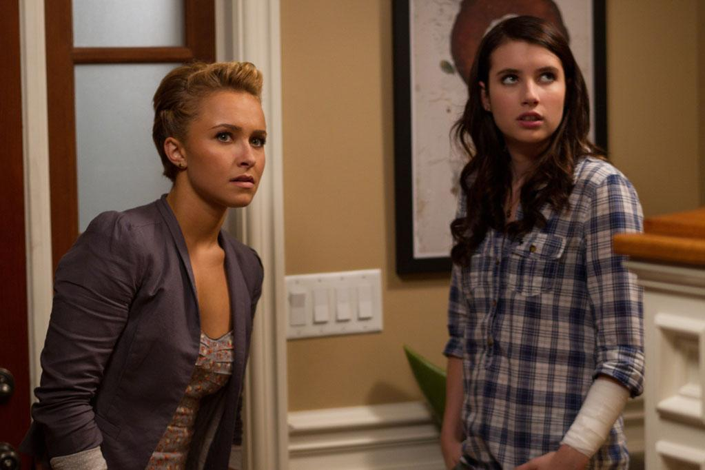 """Scream 4"" introduces a fresh cast of young actors into the franchise. New stars <a href=""http://movies.yahoo.com/movie/contributor/1800019797"">Hayden Panettiere</a>, <a href=""http://movies.yahoo.com/movie/contributor/1800354347"">Rory Culkin</a>, <a href=""http://movies.yahoo.com/movie/contributor/1810177626"">Aimee Teegarden</a>, <a href=""http://movies.yahoo.com/movie/contributor/1810175318"">Shenae Grimes</a>, <a href=""http://movies.yahoo.com/movie/contributor/1809350190"">Lucy Hale</a> and <a href=""http://movies.yahoo.com/movie/contributor/1810202797"">Marielle Jaffee</a> appear in this movie, and all of them are 21 years old. So when the first ""Scream"" movie opened in 1996, they were all only seven. Their costar <a href=""http://movies.yahoo.com/movie/contributor/1804508466"">Emma Roberts</a> just turned 20 this past February, which means the previous movie in the series, ""<a href=""http://movies.yahoo.com/movie/1800350977/info"">Scream 3</a>,"" opened just one week before her ninth birthday."