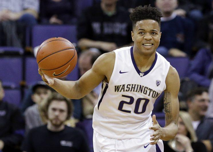 Markelle Fultz, 19, played one season at the University of Washington, where he averaged 23.3 points. (AP)