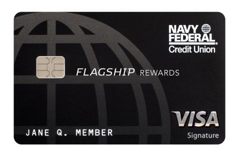 navy federal re launches visa signature flagship rewards credit card - Visa Signature Credit Card