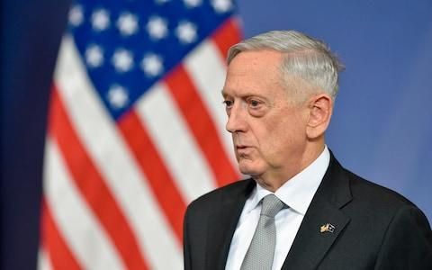<span>James Mattis said if Nato didn't exist it would have to be invented</span> <span>Credit: AFP </span>