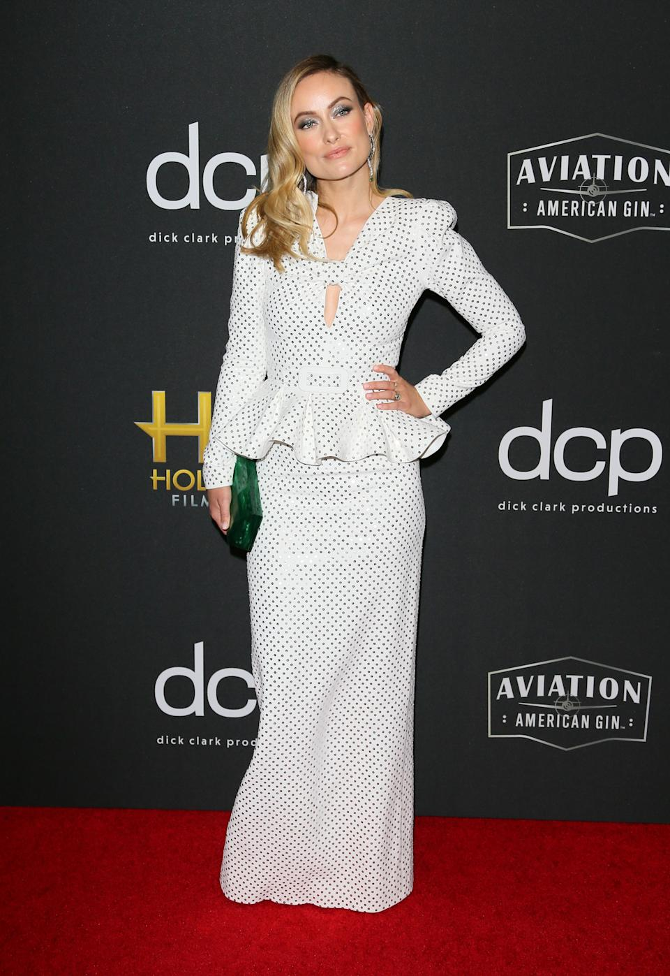 Olivia Wilde wearing Michael Kors. <em>[Photo: Getty]</em>