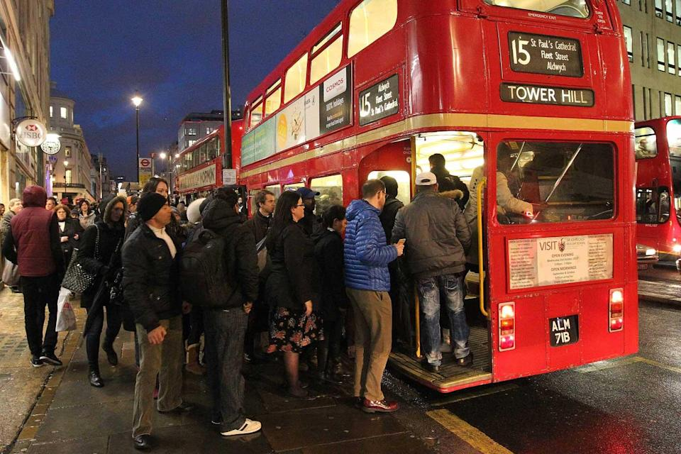 <p>The buses were the last of the city's famous open-backed vehicles in operation.</p> (Nigel Howard)