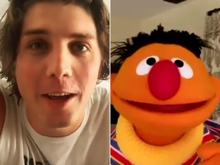 <p>Lukas Gage is the subject of a video posted by Seth MacFarlane</p> (@lukasgage/@SethMacFarlane)