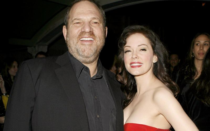 Harvey Weinstein and Rose McGowan - WireImage