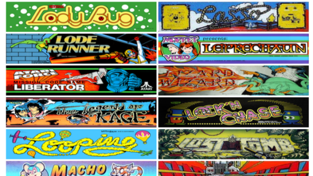 Play 900 classic arcade games in your web browser, right now