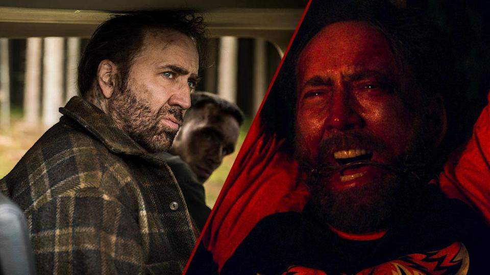 Nicholas Cage in Mandy (Universal Pictures)