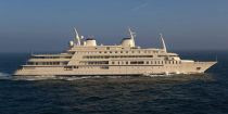 """<p><em>Al Said</em> was built for the Sultan of Oman in 2008 by Lurssen. This beast accommodates 70 guests and 154 crew members. <em>Al Said </em>boasts one of the most amazing amenities we've heard of: a concert hall with room for a 50-piece orchestra. </p><p>Little is known about the boat's interiors, except that it was designed by U.K.-based firm Redman Whitely Dixon (<a href=""""http://rwd.co.uk/"""" rel=""""nofollow noopener"""" target=""""_blank"""" data-ylk=""""slk:RMD Design"""" class=""""link rapid-noclick-resp"""">RMD Design</a>).</p>"""