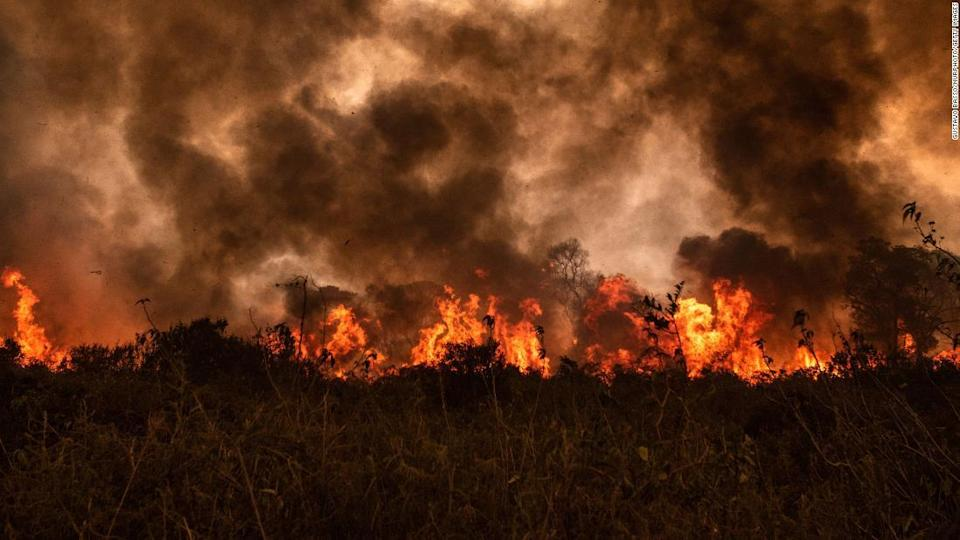 Forest Fires-Pantanal burns again. Will it lead to another devastating fire?