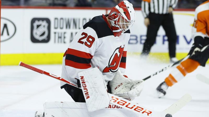 Devils make two trades and beat Columbus