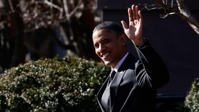 Obamas Wish Special Holiday Homecoming for Troops