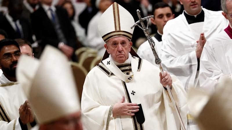 Pope asks Catholics to 'acknowledge sins' on Christmas