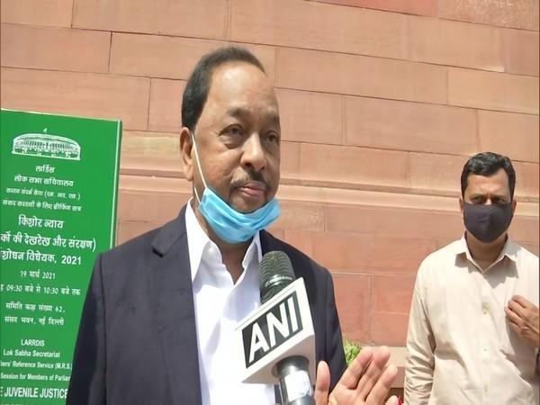 Union Minister and BJP leader Narayan Rane (File Picture)
