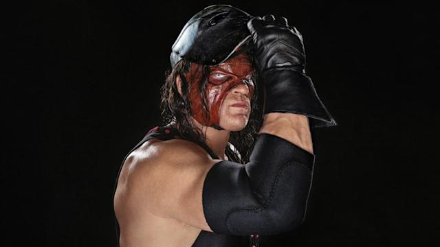 "Kane, described by WWE as a ""monstrous abomination,"" holds a slim lead in the GOP primary for mayor of Knox County, Tenn. with all precincts reporting. (Courtesy/WWE)"