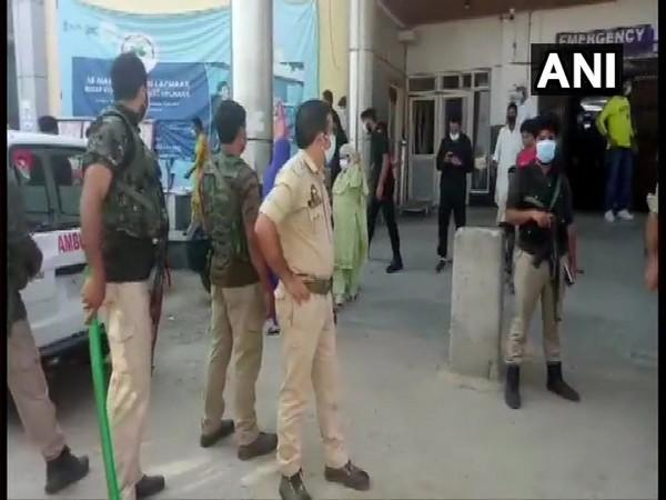 Visuals from the terrorist attack in the J-K's Baramulla district.