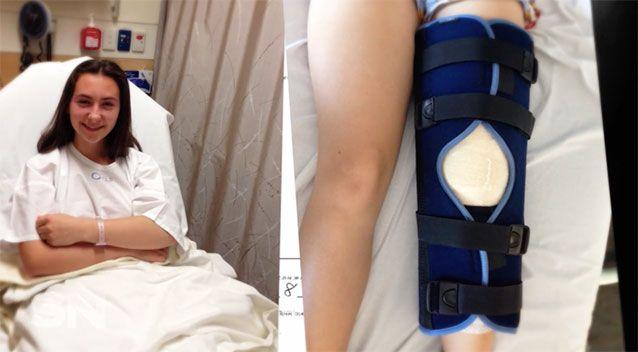 Nikita was devastated when she suffered an ACL injury at age 14.