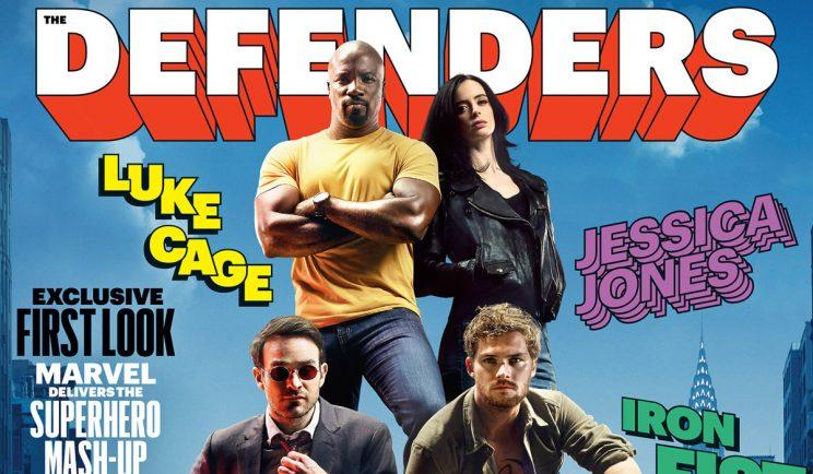 Marvel's Defenders finally join forces - Credit: EW