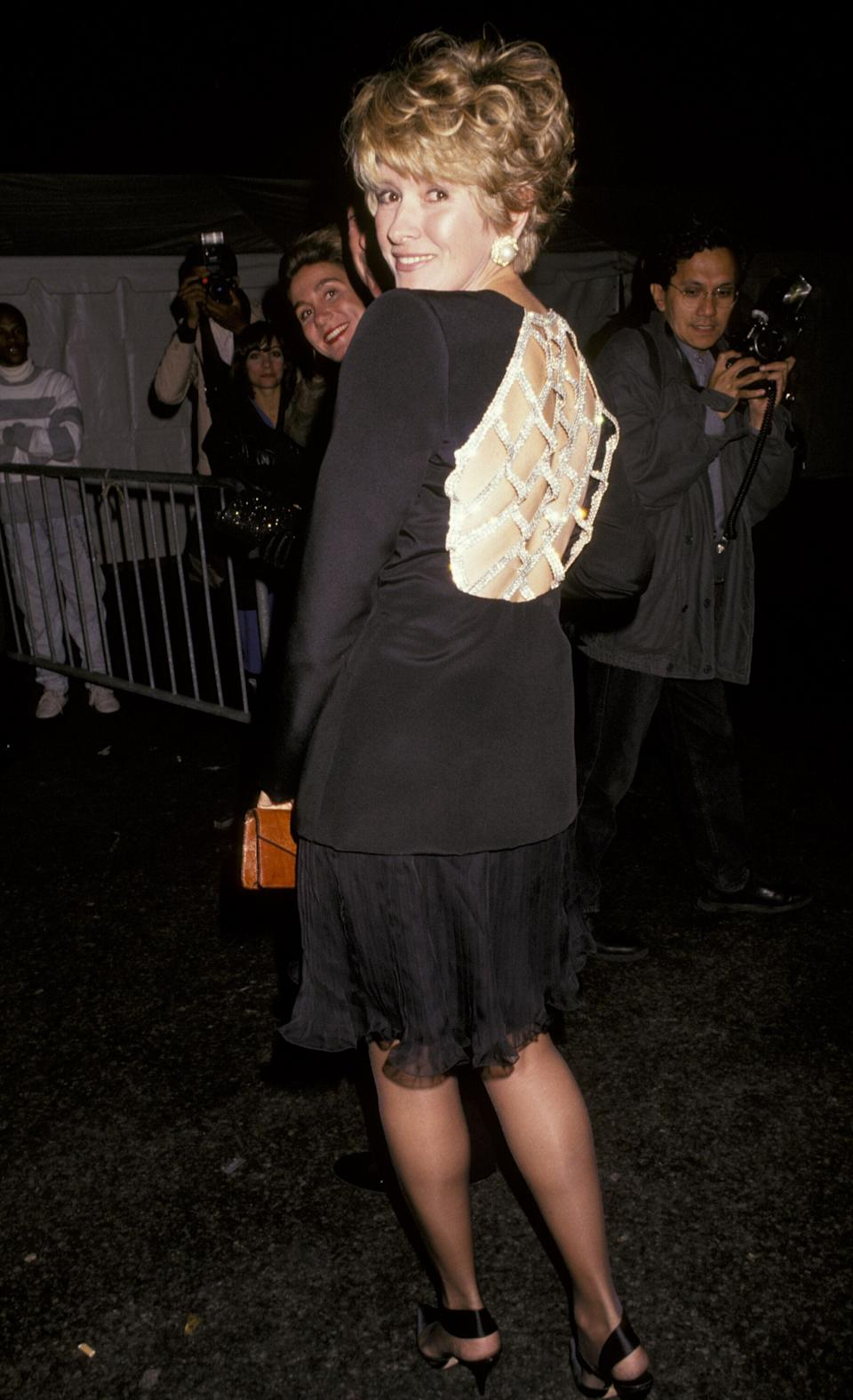 Stewart at the seventh annual Rita Hayworth Alzheimer's Benefit in New York City in 1991.