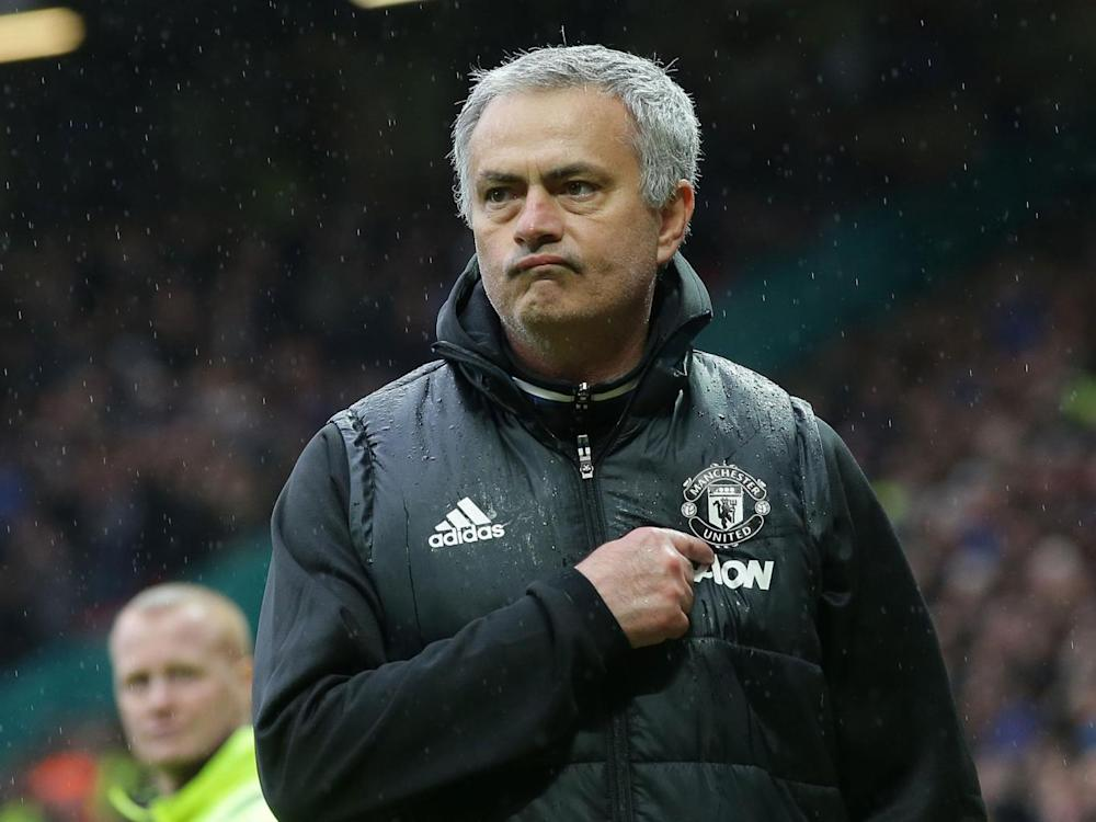 Mourinho was delighted with United's win over Chelsea (Getty)