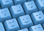 <p>The first documented use of the smiley emoticon happened when Carnegie Mellon research professor Scott Fuhrman posted it to a school message board. He intended it to be an indicator when something on the board was just a joke and not to be taken seriously. :-)</p>