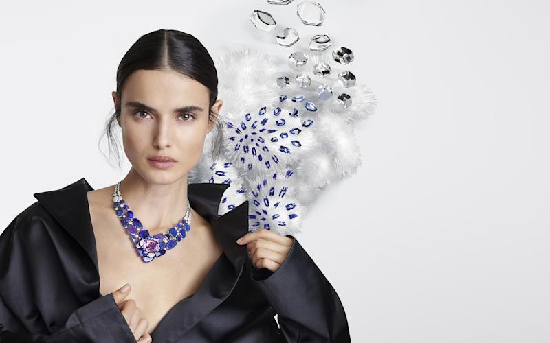 The Hemis necklace from Cartier's new [Sur]Naturel high jewellery collection
