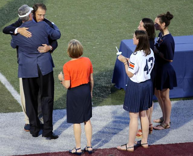 Gus Malzahn and Auburn AD Jay Jacobs spoke at memorial service for Philip Lutzenkirchen (Video)