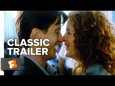 """<p>Jealous and confused by her feelings, Julianne (Julia Roberts) cannot accept that her best friend Michael (Dermot Mulroney) is marrying another woman in this iconic '90s staple.</p><p><a class=""""link rapid-noclick-resp"""" href=""""https://www.amazon.com/My-Best-Friends-Wedding-Hogan/dp/B000I9U77O?tag=syn-yahoo-20&ascsubtag=%5Bartid%7C2139.g.36406709%5Bsrc%7Cyahoo-us"""" rel=""""nofollow noopener"""" target=""""_blank"""" data-ylk=""""slk:Stream it here"""">Stream it here</a></p><p><a href=""""https://www.youtube.com/watch?v=P2segbP94SE&ab_channel=MovieclipsClassicTrailers """" rel=""""nofollow noopener"""" target=""""_blank"""" data-ylk=""""slk:See the original post on Youtube"""" class=""""link rapid-noclick-resp"""">See the original post on Youtube</a></p>"""