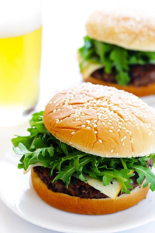 """<p>Bye, bye beef, hello 20-minute veggie burgers.</p><p>Get the recipe from <a href=""""https://www.gimmesomeoven.com/20-minute-black-bean-burgers/"""" rel=""""nofollow noopener"""" target=""""_blank"""" data-ylk=""""slk:Gimme Some Oven"""" class=""""link rapid-noclick-resp"""">Gimme Some Oven</a>.</p>"""