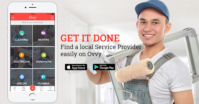 Start-up Ovvy Allows Bidding And Sourcing Of Household Service Providers | SingSaver