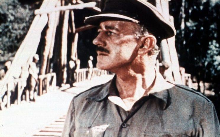 Sir Alec Guinness in The Bridge on the River Kwai - Film Stills