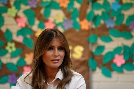 First Lady Melania Trump Visits Child Detention Center in McAllen, Texas