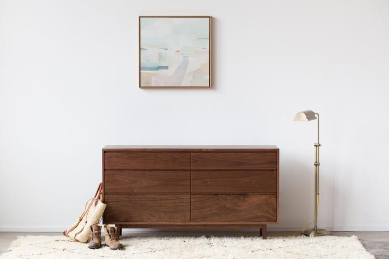 Hedge House's Hayward dresser is sleek, sturdy, and built to order.