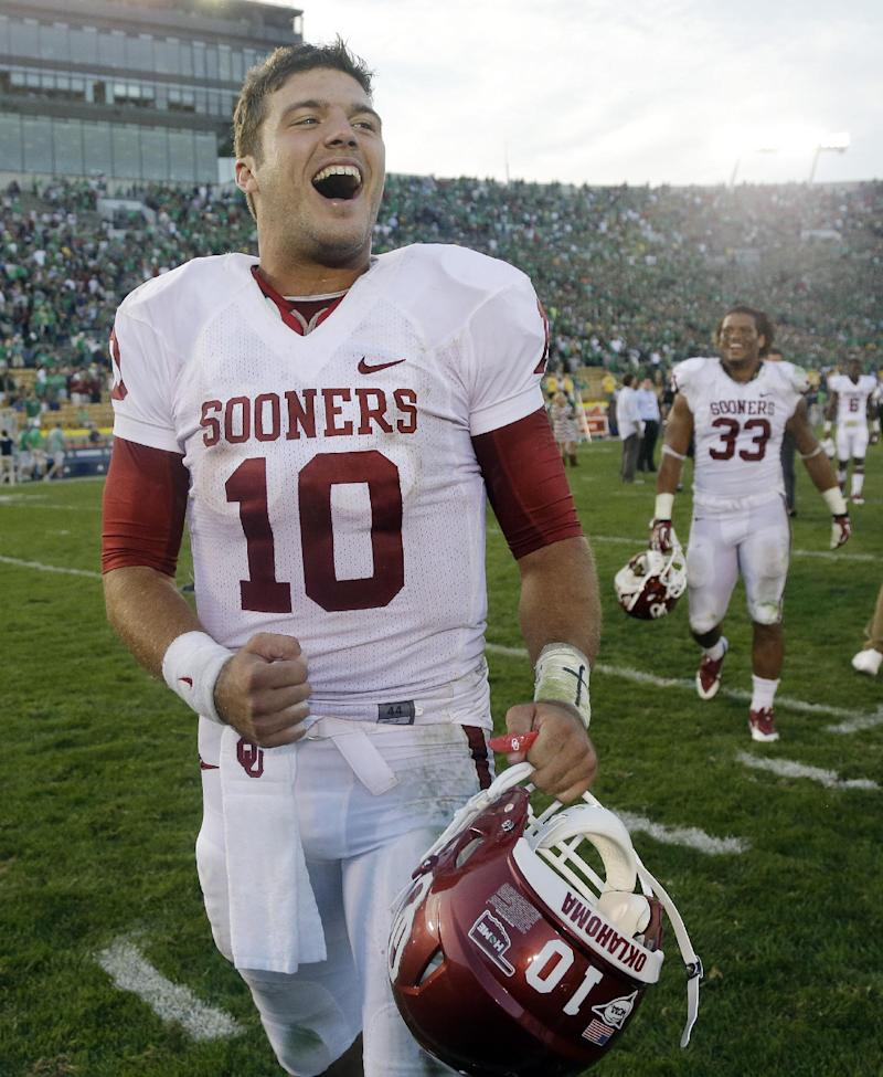 No. 11 Sooners say win over Irish helps confidence
