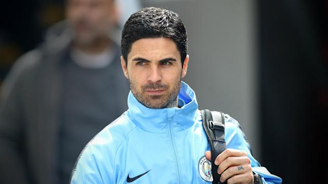 Arsenal are reportedly set to appoint Mikel Arteta, but Manchester City boss Pep Guardiola is unsure over the latest developments.