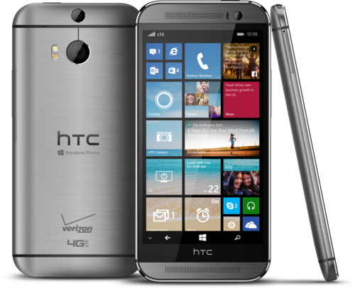 HTC One M8 smartphone
