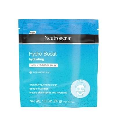 <p>Give yourself a hydration boost with the <span>Neutrogena Moisturizing Hydro Boost Hydrating Face Mask</span> ($3).</p>