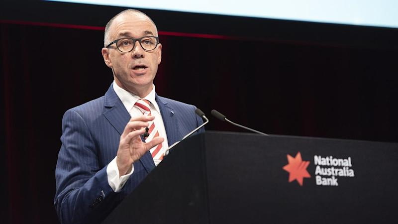 NAB Group CEO and managing director Andrew Thorburn at the bank's 2018 annual general meeting