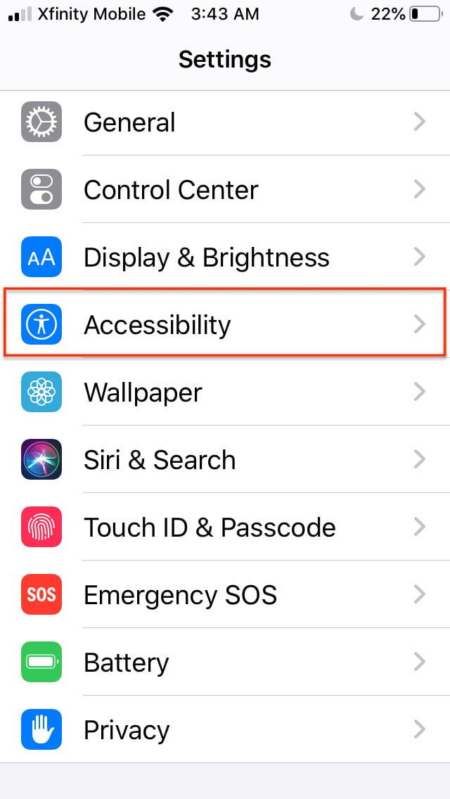 how to disable 3d and haptic touch in ios 13 touch11