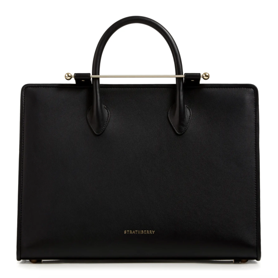 Strathberry Leather Tote. Image via Nordstrom.