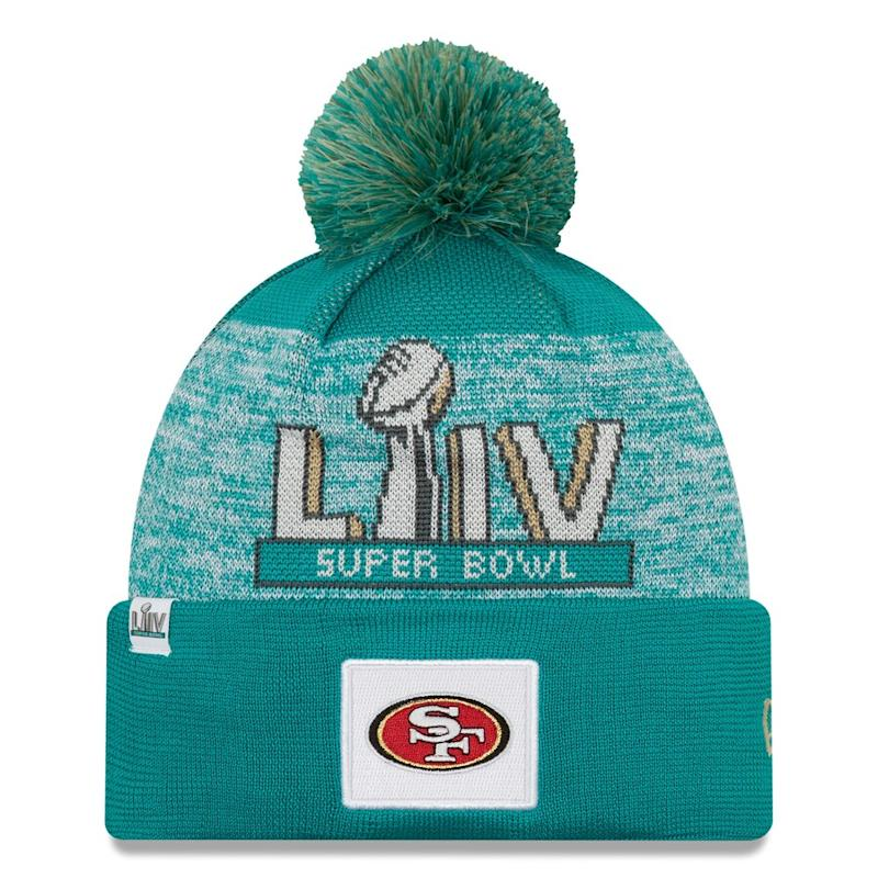 49ers Super Bowl LIV Bound Pom Knit Hat