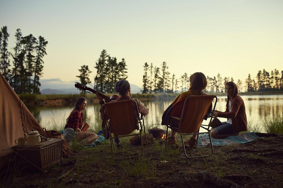 <p>Is there any better summer activity? Just don't forget to bring the s'mores fixings!</p>