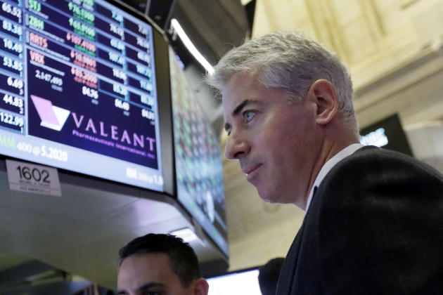Bill Ackman, CEO and founder of Pershing Square Capital. (AP Photo/Richard Drew)