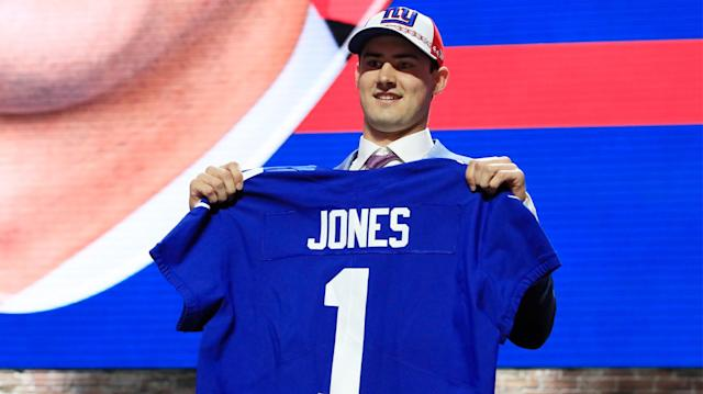 Evan Silva unveils his 2019 post-draft grades for all 16 NFC teams. (Getty Images)