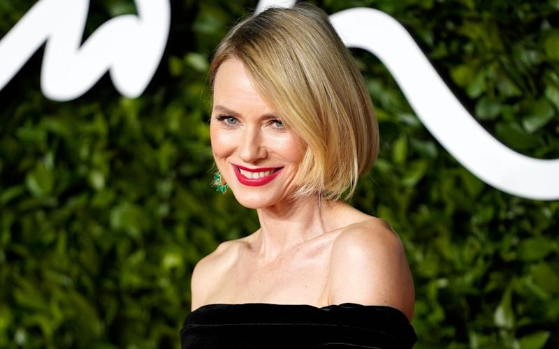 "Naomi Watts has co-founded Onda, a range of products and store of ""clean"" beauty products - REX"