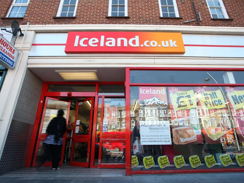 Iceland supermarket in London, 3 May 2011: Rex Features