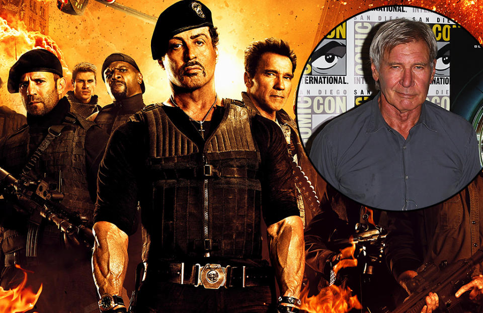 Harrison Ford joins 'The Expendables' crew