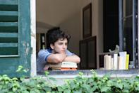 """<p>A gay coming-of-age love story that takes place over the course of the summer in Northern Italy might not seem at first blush like a Hanukkah movie, but consider: one of the first commonalities Oliver and Elio find is their shared Jewish faith. And after a time jump following the bulk of the action, the story ends at Hanukkah. Elio's family is preparing a Hanukkah meal while he stares into the famous fire. And fire is like candles and candles are like Menorah and Menorah is for Hanukkah. Chag Sameach!</p> <p><a href=""""https://www.amazon.com/Call-Your-Name-Armie-Hammer/dp/B0791VJLVB"""" rel=""""nofollow noopener"""" target=""""_blank"""" data-ylk=""""slk:Available to rent on Amazon Prime Video"""" class=""""link rapid-noclick-resp""""><em>Available to rent on Amazon Prime Video</em></a></p>"""