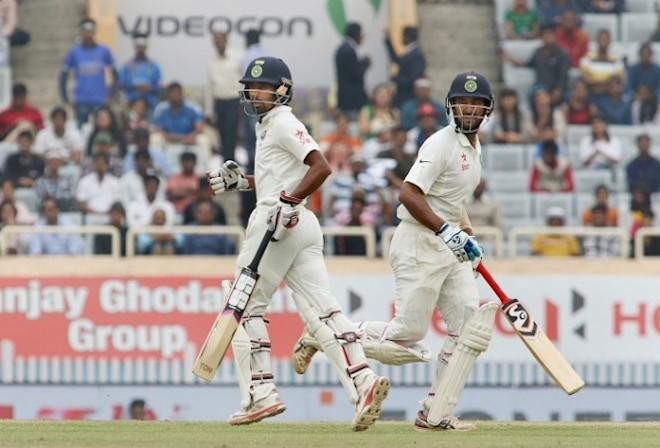 Wriddhiman Saha, Cheteshwar Pujara, India vs Australia, third Test
